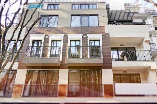 Place in Varna City with heating and wifi