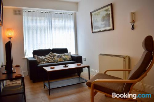 Apartment in Dublin with heating