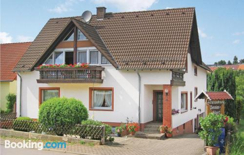 2 bedroom place in Greimerath with heating