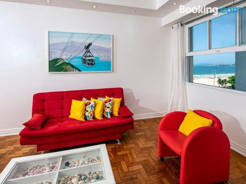 Stay cool: air apartment in Rio de Janeiro with internet.