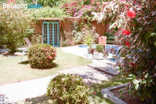 Bonito apartamento en Olinda con vistas y internet