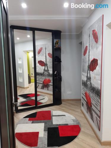 Comfy apartment in Baranavichy. Perfect!.