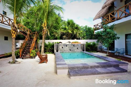Place for 2 in Holbox Island with terrace!.