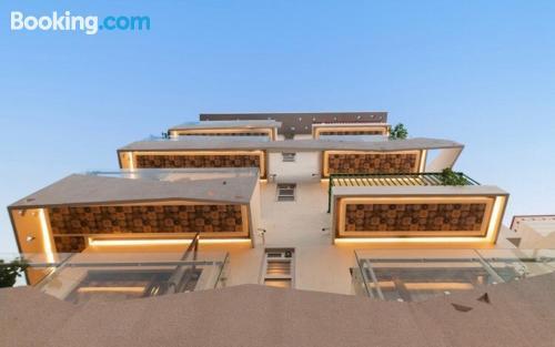 Apartamento para familias con aire acondicionado.