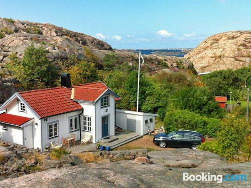Home with internet. Lysekil at your feet!