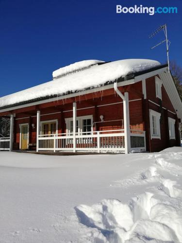 Apartment in Sotkamo good choice for 6 or more.