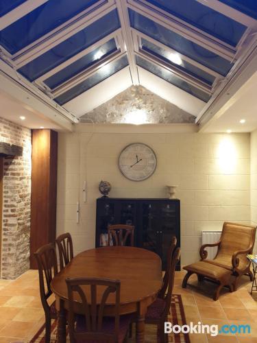 2 rooms apartment in Amboise. 100m2!.