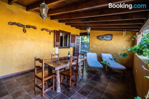 Comfortable home in Alajeró with terrace.