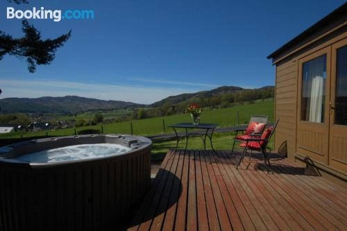 Apartment with terrace in Pitlochry.
