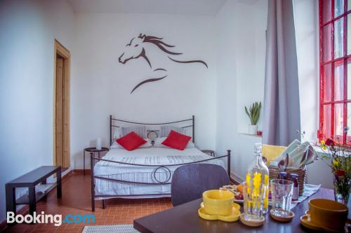2 rooms apartment with terrace and pool.