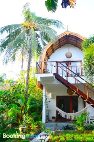Apartamento ideal con aire acondicionado