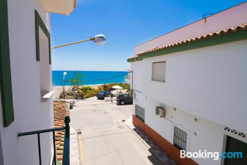 Place in Algarrobo-Costa with heating and internet