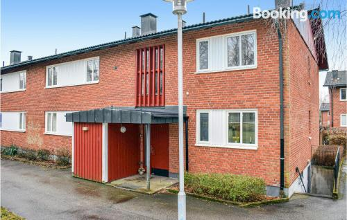 Home for 2 in Hyltebruk. 47m2.