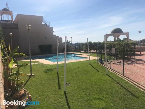 Terrace! Pool!