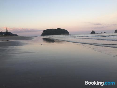 One bedroom apartment in Whangamata. For two people