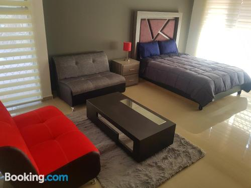 One bedroom apartment home in Monterrey with air.