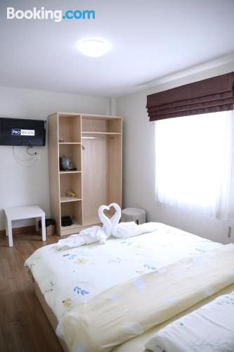 Place for 2 people in Bangkok with air