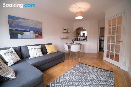 Two room home in Falkirk. Good choice!
