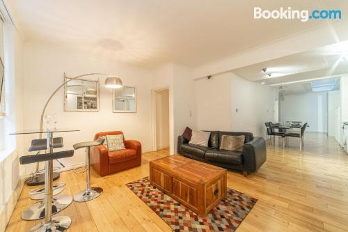 One bedroom apartment in central location with heating and internet