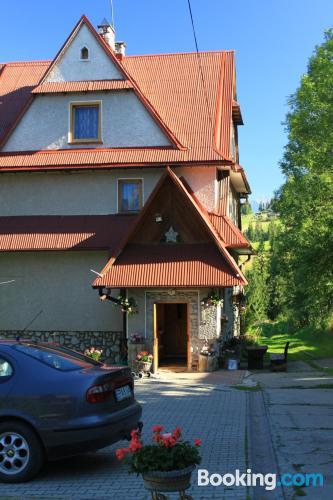 Place in Bukowina Tatrzańska with internet.