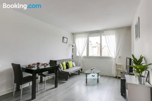 Cozy apartment in Paris.