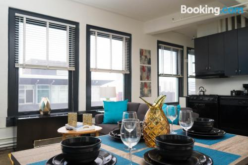 One bedroom apartment in Los Angeles. 74m2!