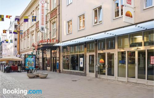 Best location in Karlskrona with internet.