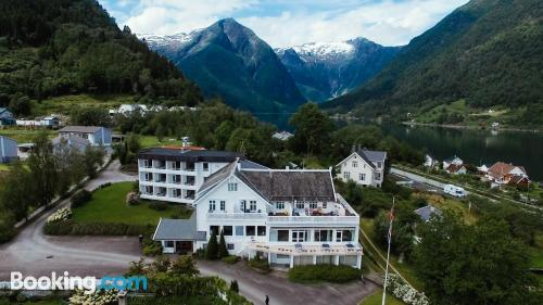 Place for two people in Balestrand in incredible location
