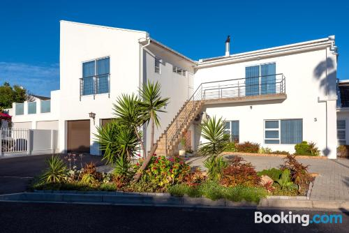 Terrace and wifi home in Muizenberg. For 2 people