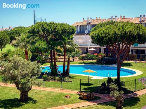 Place in El Portil with terrace and swimming pool.