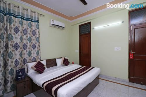 Tiny apartment in great location in Noida.