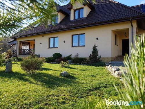 Apartment for 2 people in Szczytna. Terrace!.