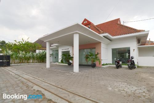 1 bedroom apartment home in Yogyakarta with terrace.