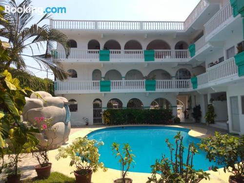 Perfecto apartamento de una habitación en Acapulco.