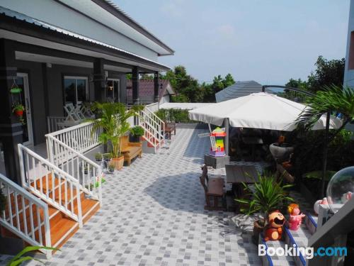 Place in Bang Lamung with terrace