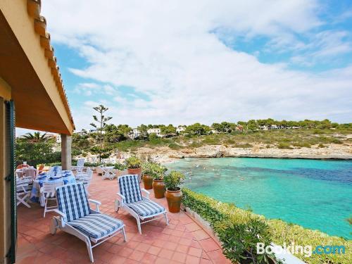 Great, three bedrooms. Enjoy your terrace