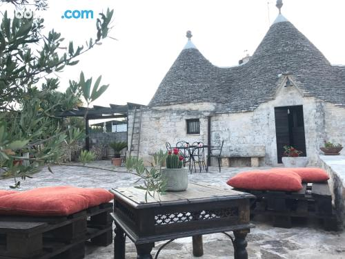 Stay cool: air-con place in Alberobello in perfect location