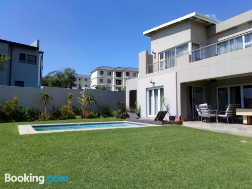 Perfect for 2 people. Enjoy your swimming pool in Fourways!.