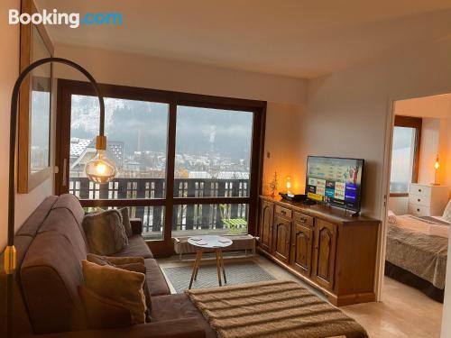 Apartamento en Chamonix-Mont-Blanc con terraza