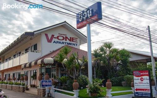 Convenient one bedroom apartment in Chaiyaphum.
