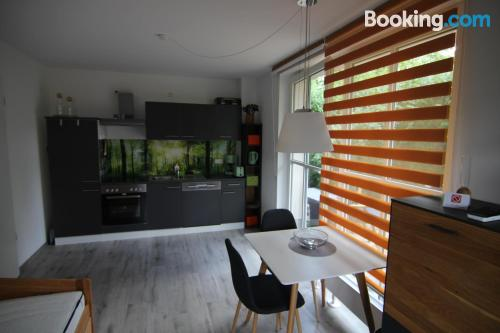 One bedroom apartment place in Weimar for two.