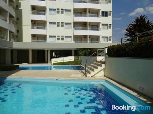 Apartamento de 36m2 en Rio Quente, bien ubicado