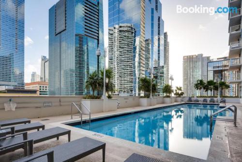 Convenient one bedroom apartment in Miami.