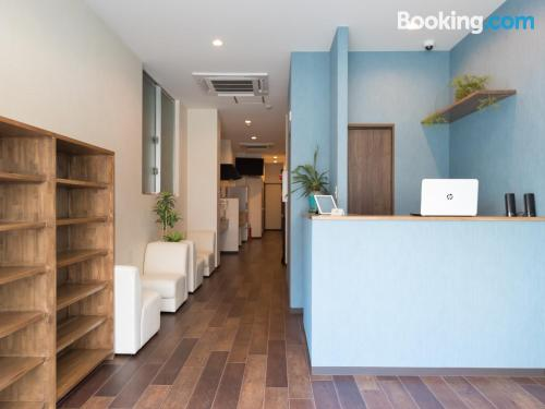 Home for couples in Osaka with internet and terrace