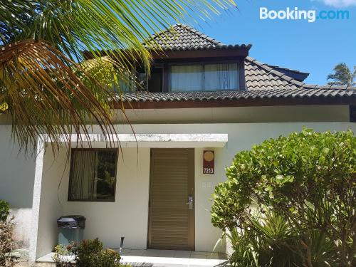 Apartment with two rooms in Porto de Galinhas.