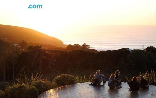 Home with terrace in Raglan.