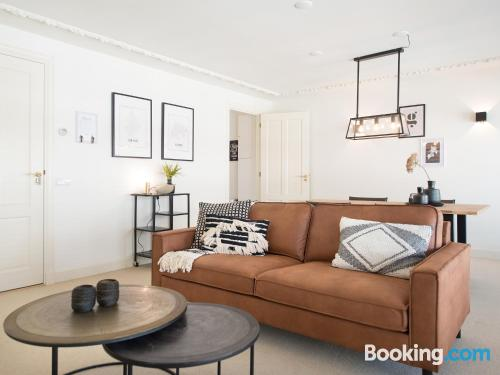 Apartment for two people in The Hague with heat and wifi
