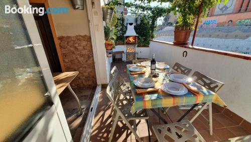 Apartment with terrace convenient for families!