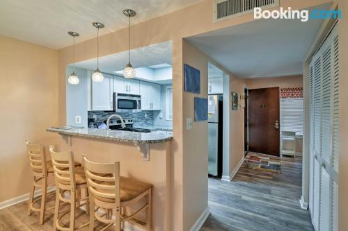 Apartment with swimming pool in Myrtle Beach.