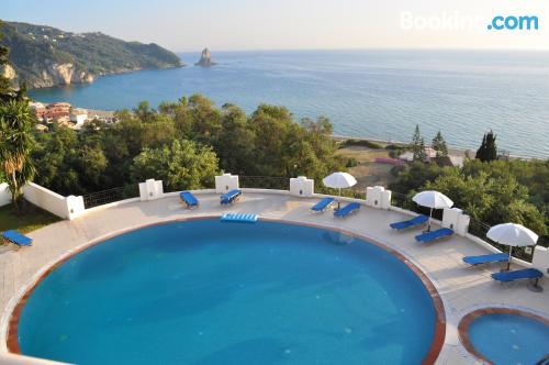 Apartamento con vistas en Agios Gordios.